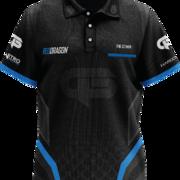 Red Dragon Darts Gerwyn Price The Iceman Pro Tour Player Shirt Matchshirt Dart Shirt Trikot Design 2020 Front