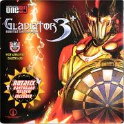 one80 Dart Gladiator 3 Plus Bristle Dart Board Dartboard Turnierboard Dartscheibe 2020 Inklusive Rotafix