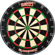 one80 Dart Gladiator 3 Plus Bristle Dart Board Dartboard Turnierboard Dartscheibe 2020