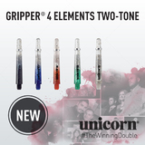 unicorn Gripper 4 Elements Two-Tone Shaft mit Aluminium Ring in verschiedenen Designs