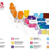 Hallenplan der Spielwaren Messe Nürnberg 2017