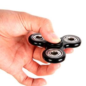 Fidget Hand Spinner Schwarz mit Qualitätskugellager