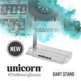 Unicorn Dartständer Dart Stand Acryl für 18 Darts