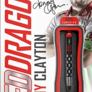 Red Dragon Steel Darts Jonny Clayton Premier League S.E. Steeltip Dart Steeldart 2021 24g