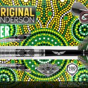 Shot Steel Darts Kyle Anderson Battler 80% Tungsten Steeltip Darts Steeldart 22-23-24-25 g