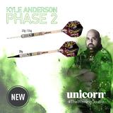 Unicorn CONTENDER Kyle Anderson Phase 2 Steel Dart Steeldart 2018