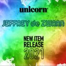 Neue unicorn Steel & Soft Darts Maestro Jeffrey De Zwaan 2020/2021