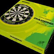 Winmau MvG Diamond Edition Michael van Gerwen Bristle Dart Board Dartboard Turnierboard Dartscheibe Verpackung