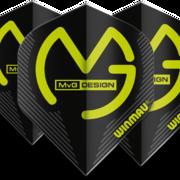 Winmau Mega Standard MVG Michael van Gerwen Dart Flight in verschiedenen Designs 6900-231