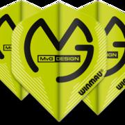 Winmau Mega Standard MVG Michael van Gerwen Dart Flight in verschiedenen Designs 6900-233