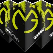 Winmau Mega Standard MVG Michael van Gerwen Dart Flight in verschiedenen Designs 6900-234