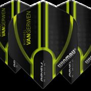 Winmau Prism Alpha MVG Michael van Gerwen Dart Flight Design 1 6915-143