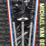 Michael van Gerwen neue Verpackung mit den 3 Sternen der Weltmeister Titel