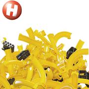 Hubelino Kugelbahn pi Marble Run Elements M 98 Teile Lego kompatibel Neuheit 2019