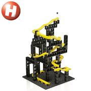 Hubelino Kugelbahn pi Marble Run Set M 99 Teile Lego kompatibel Neuheit 2019