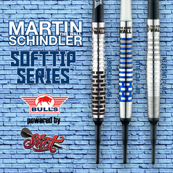 Bull´s powered by Shot Darts Martin Schindler The Wall Softdart Softip Range