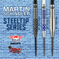 Bull´s powered by Shot Darts Martin Schindler The Wall Steeldart Steeltip Range