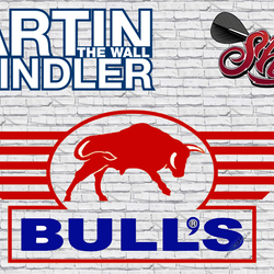 Neue Martin Schindler The Wall Darts Bull´s powered by Shot Darts 2018 / 2019 - Geplante Launch 26.11.2018