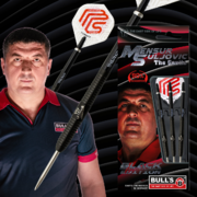 BULL´S Mensur Suljovic Black-Edition Steel Dart Steeldart Steeltip Edition 2020