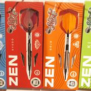 Shot Darts ZEN Serie Dojo, Ki, Kyudo, Roshi Verpackungen