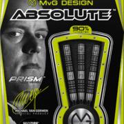 Winmau Soft Darts MvG Michael van Gerwen Absolute 90% Tungsten Softtip Dart Softdart 2020 22 g Verpackung