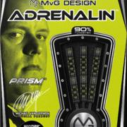 Winmau Steel Darts MvG Michael van Gerwen Adrenalin 90% Tungsten Steeltip Dart Steeldart 2020 Verpackung