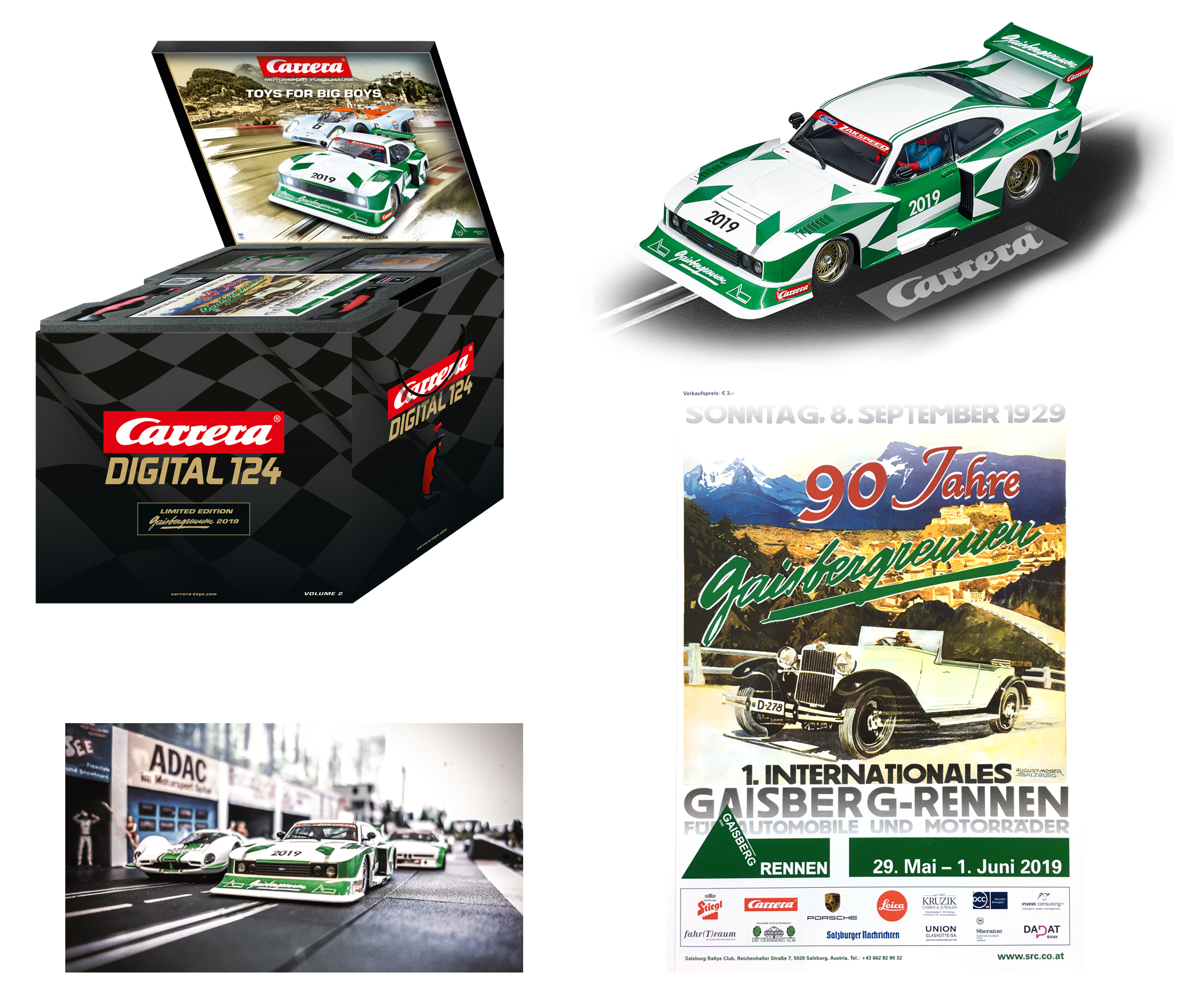 Carrera Digital 124 Gaisbergrennenset 2019 Art.Nr. 90920 / 20090920