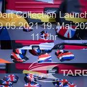 Dritte Target Dart 2021 Dart Collection Launch 19.05.2021 19. Mai 2021 11 Uhr Takoma Flag - Takoma Flag XL - Target Dart Flag Pro Ultra Dart Flight, Flaggen Deutschland, Niederlande, Großbritannien
