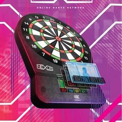 Target Nexus Online Network Elektronik Dart Soft Dartboard Dartscheibe Art.Nr. 121109 Verpackung