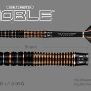 Harrows Dart Softdarts Noble Titanium Nitride 90% Tungsten