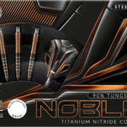 Harrows Steel Darts Noble 90% Tungsten Steeltip Dart Steeldart 21-22-23-24-25-26 g