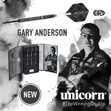 uicorn Gary Anderson Noir Steeldart