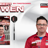 BULL'S Steel Darts Robert Owen 90% Tungsten Steel Dart Steeldart Steeltip 23 g