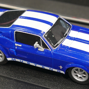 Carrera GO!!! / GO!!! Plus Ford Mustang ?67 Racing Blue Art.Nr. 64146 / 20064146