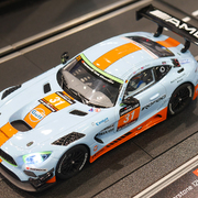 Carrera Digital 132 Mercedes Benz SLS AMG GT3 Gulf Racing Nr.31 Art.Nr. 30870 / 20030870