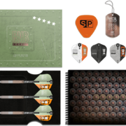 Target Steel Darts Raymond van Barneveld RVB Legacy Limited Edition SWISS Point 95% Tungsten 2019 25 g Präsentationsbox Inhalt