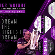 Red Dragon Peter Wright Snakebite World Champion Edition 2020 Flights Dart Flight verschiedene Designs