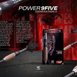 Target Steel und Softdarts Phil Taylor Power 9Five G5 Generation 5 2018 in 5 unterschiedlichen Gewichten Beschreibung