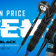 Red Dragon Steel Darts Soft Darts Gerwyn Price Back to Black Special Edition Steeltip Softtip 2020