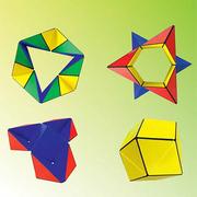 GeoBender® Cube Würfel magnetisches 3D-Puzzle Neuheit 2020 Modell Primary 2