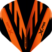 XQMax Standard PVC Flight Dartflight Orange