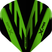 XQMax Standard PVC Flight Dartflight Grün