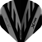 XQMax Standard PVC Flight Dartflight Schwarz