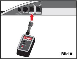 Carrera Digital 124 /132 Controll Unit mit Receiver Anschluss Anleitung