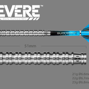 Harrows Dart Steeldarts Revere 90% Tungsten