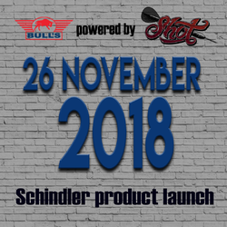 Neue Martin Schindler The Wall Darts Bull´s powered by Shot Darts 2018 / 2019 - Launch 26.11.2018
