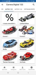 Carrera Digital 132 Rennbahnen Fahrzeuge- Autos