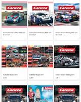 Sammlung von Carrera Rennbahn Katalogen und Fleyer