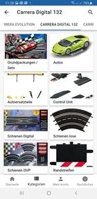 Carrera Digital 132 Rennbahnen Startseite