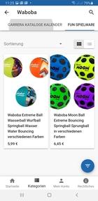 Waboba Fun- Spielwaren Wasserbälle